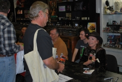Signing for Dark House at Dark Delicacies March 22, 2014